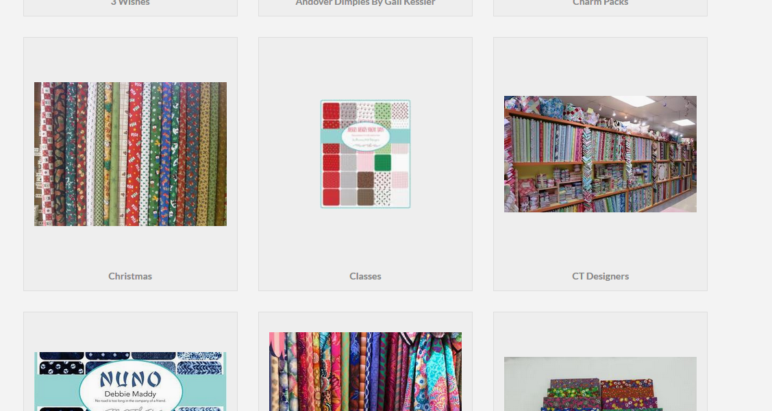 Christie's Quilting Boutique Inventory and Shopify Integration