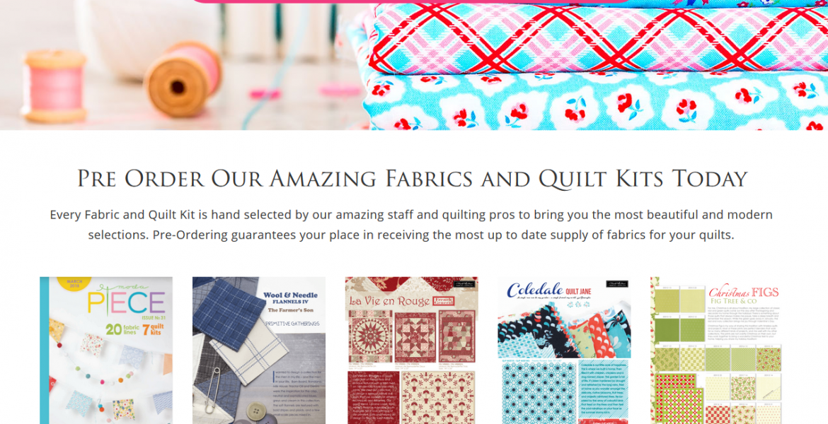 Christie's Quilting Boutique Splash Page
