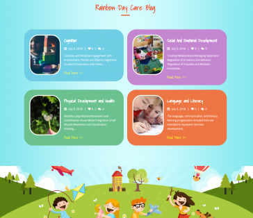 Rainow Day Care Blog Section