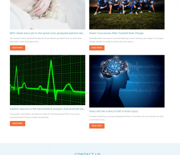 Neurology Associates of Norwalk Splash Page Blog Section