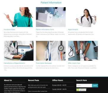 Norwalk Associates of Norwalk Patient Portal Page